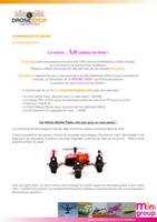 Communiqué de Presse Drones Noël